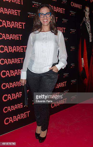 Actress Llum Barrera attends the 'Cabaret Broadway Musical' photocall at Rialto theatre on October 8 2015 in Madrid Spain