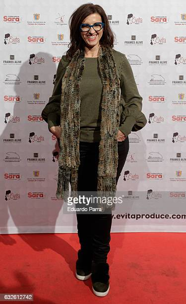 Actress Llum Barrera attends the 'Mi ultima noche con sara' photocall at Rialto theatre on January 24 2017 in Madrid Spain