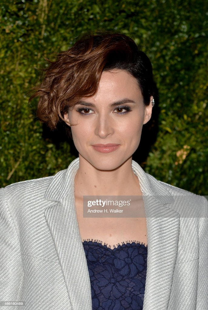 Actress <a gi-track='captionPersonalityLinkClicked' href=/galleries/search?phrase=Loan+Chabanol&family=editorial&specificpeople=7984352 ng-click='$event.stopPropagation()'>Loan Chabanol</a> attends the CHANEL Tribeca Film Festival Artists Dinner at Balthazar on April 22, 2014 in New York City.