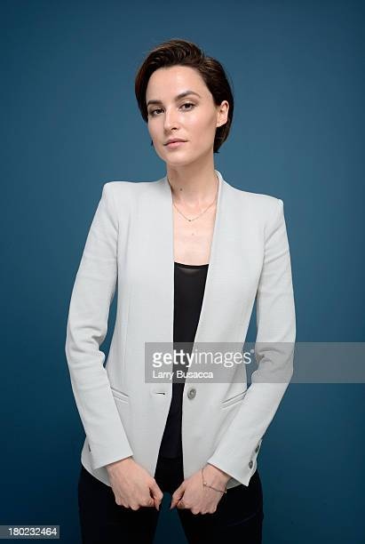 Actress Loan Chabanol of 'Third Person' poses at the Guess Portrait Studio during 2013 Toronto International Film Festival on September 10 2013 in...