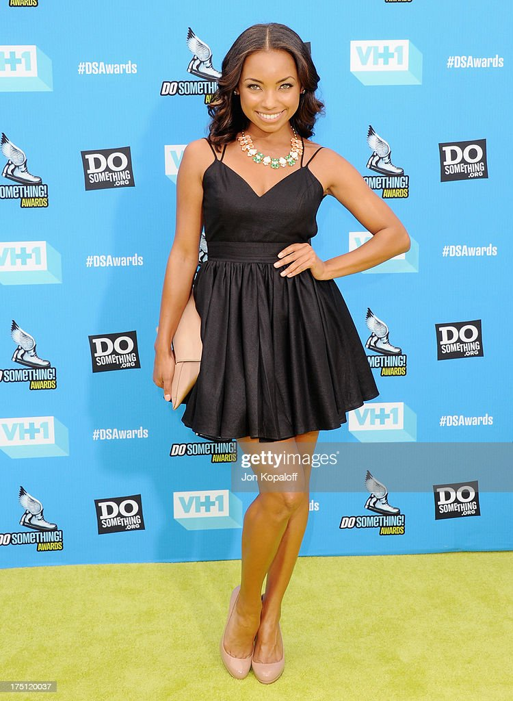 Actress Logan Browning arrives at the 2013 Do Something Awards at Avalon on July 31, 2013 in Hollywood, California.