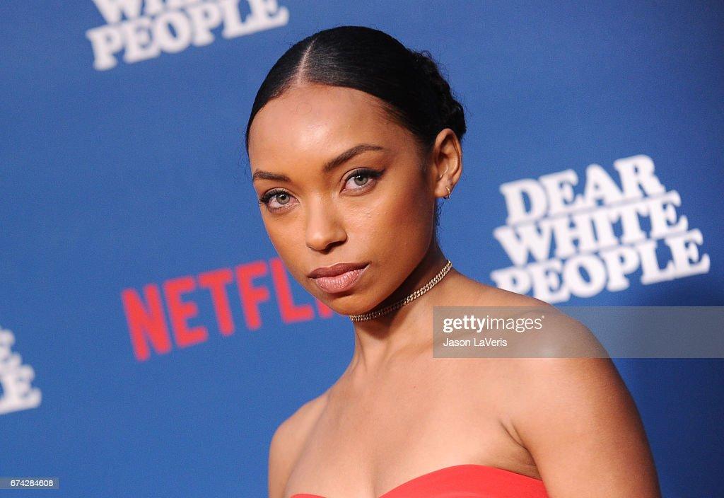 "Premiere Of Netflix's ""Dear White People"" - Arrivals"