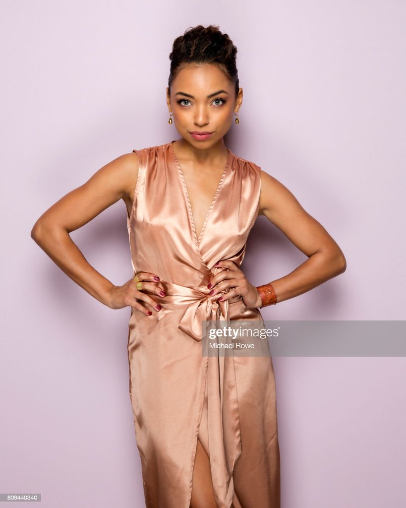 Actress Logan Browning is photographed for Essence Magazine on February 23, 2017 in Los Angeles, California.
