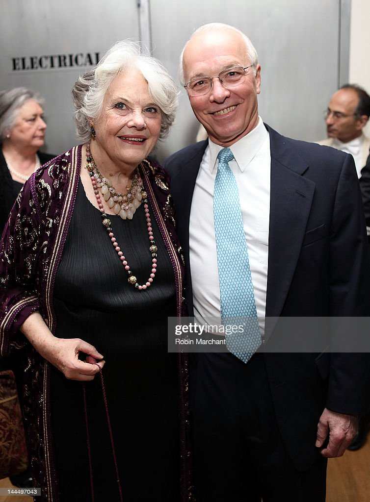 Actress Lois Smith and GH 'Denny' Denniston Jr attend the 2012 Ensemble Studio Theatre gala at SIR Stage 37 on May 14 2012 in New York City