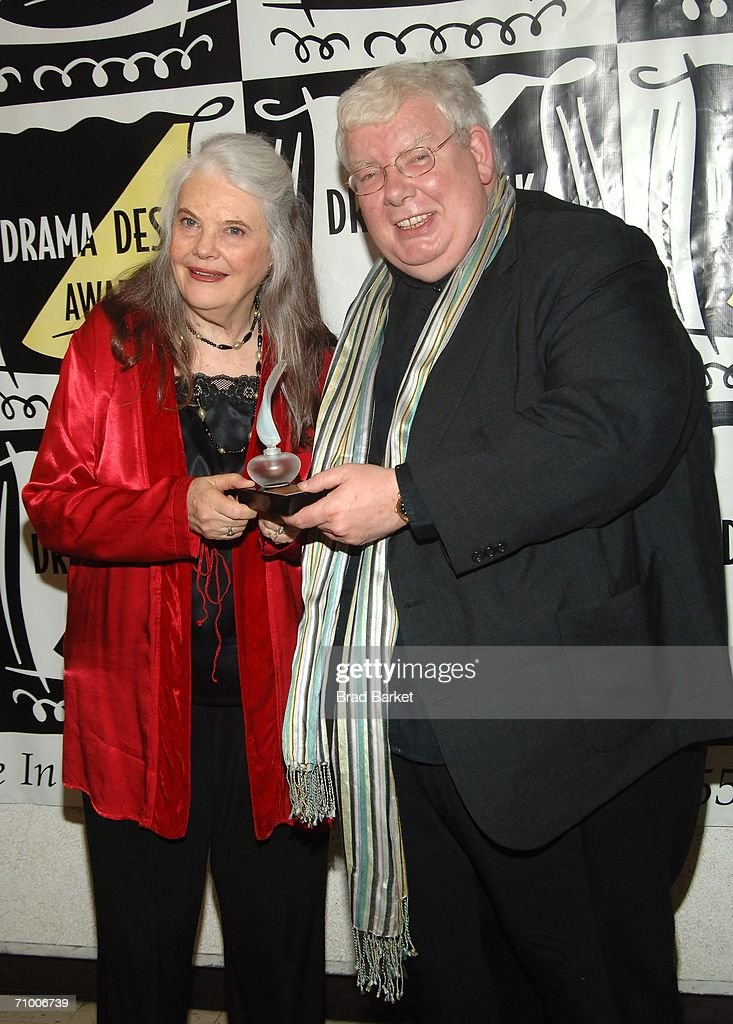 Actress Lois Smith and Richard Griffith attend the 51st Annual Drama Desk Awards at FH LaGuardia Concert Hall in Lincoln Center on May 21 2006 in New...