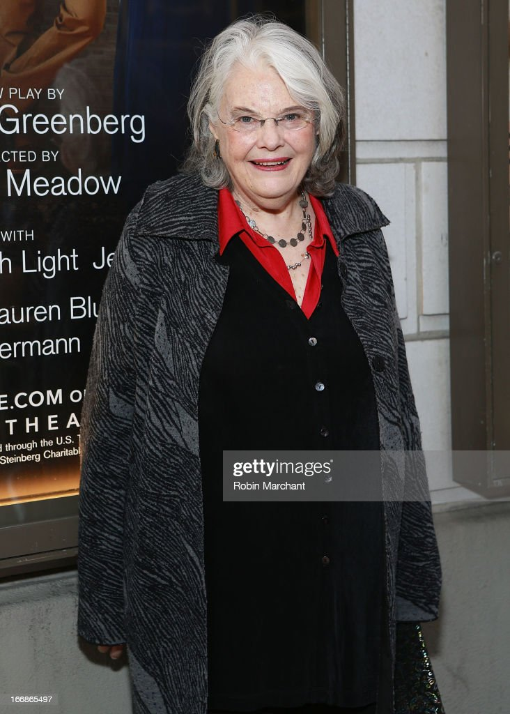 Actress <a gi-track='captionPersonalityLinkClicked' href=/galleries/search?phrase=Lois+Smith+-+Actress&family=editorial&specificpeople=555970 ng-click='$event.stopPropagation()'>Lois Smith</a> attends the 'The Assembled Parties' opening night at Samuel J. Friedman Theatre on April 17, 2013 in New York City.