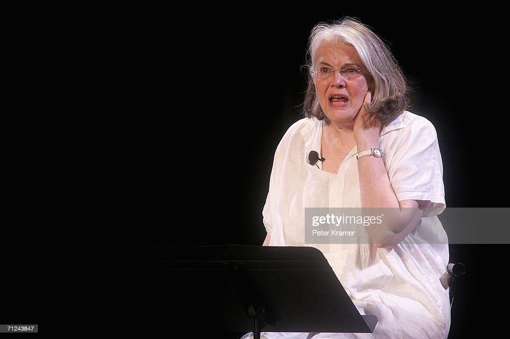 Actress Lois Smith performs at 'A Memory A Monologue A Rant A Prayer Writers On Violence Against Women And Girls' presented by VDay at the...