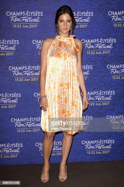 Actress Lola Creton attends the 6th 'ChampsElysees Film Festival' at Cinema Gaumont Marignan on June 15 2017 in Paris France