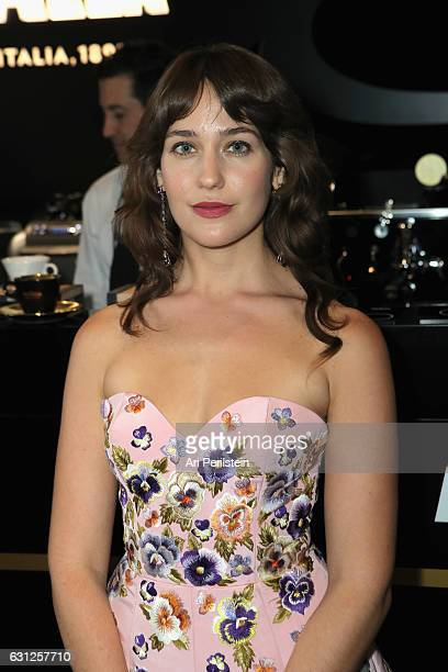 Actress Lola Kirke attends the 74th Annual Golden Globe Awards sponsored by Lavazza an Italian coffee brand at The Beverly Hilton Hotel on January 8...