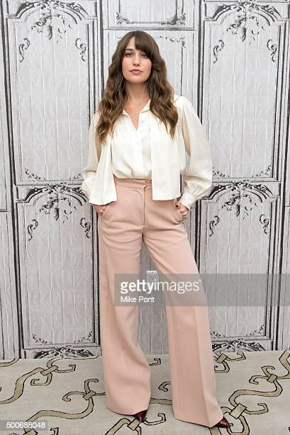 Actress Lola Kirke attends the AOL BUILD Series 'Mozart In The Jungle' at AOL Studios In New York on December 9 2015 in New York City