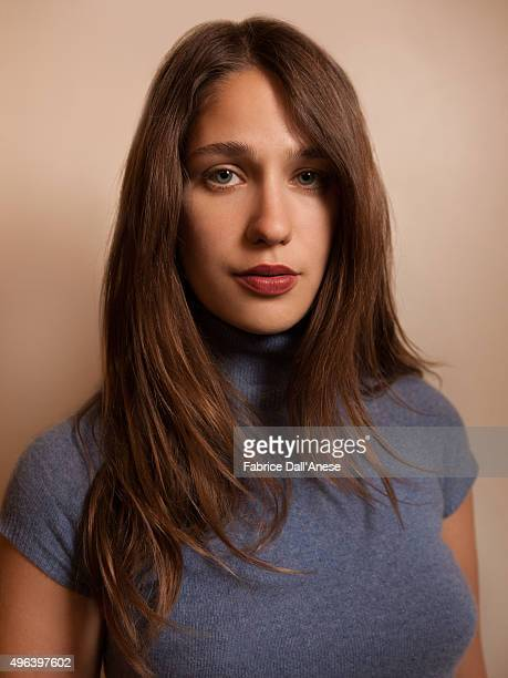 Actress Lola Kirke is photographed for Vanity Faircom on April 15 2015 in New York