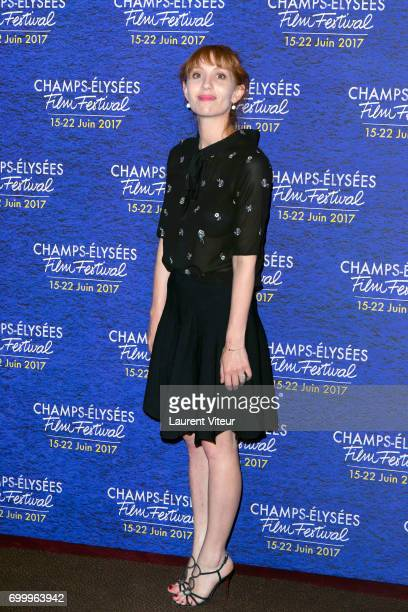 Actress Lolita Chammah attends Closing Ceremony of 6th Champs Elysees Film Festival on June 22 2017 in Paris France