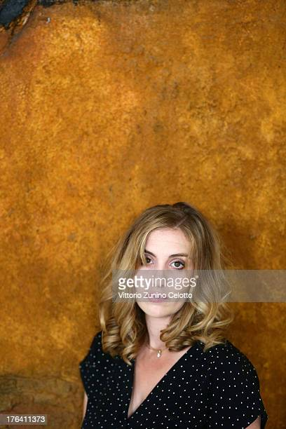 Actress Lolita Chammah poses for a portrait during the 66th Locarno Film Festival on August 12 2013 in Locarno Switzerland