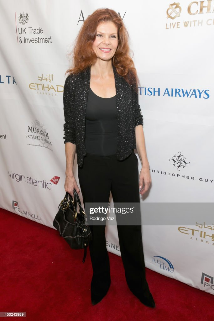 Actress Lolita Davidovich attends The British American Business Council Los Angeles 54th Annual Christmas Luncheon at Fairmont Miramar Hotel on December 13, 2013 in Santa Monica, California.