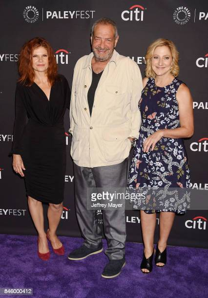 Actress Lolita Davidovich Dick Wolf Edie Falco attends the The Paley Center For Media's 11th Annual PaleyFest Fall TV Previews Los Angeles NBC at The...