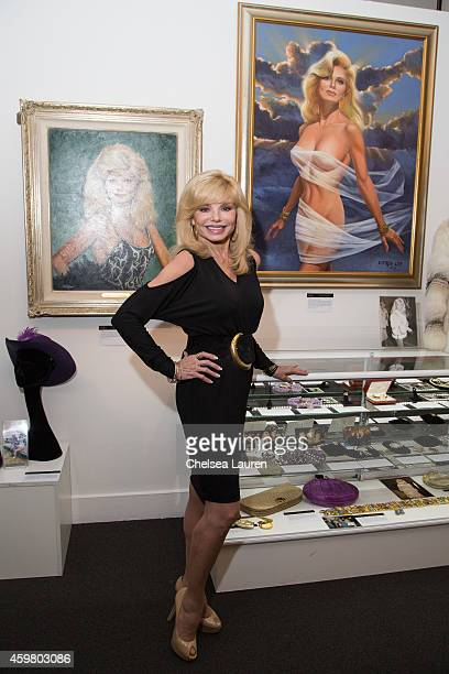 Actress Loni Anderson appears at the 'Icons Idols Hollywood' press event at Julien's Auctions Gallery on December 1 2014 in Beverly Hills California