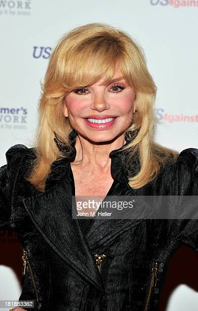 Actress Loni Anderson attends a Celebrity Reading Of 'Surviving Grace' To Benefit Alzheimer's at the Stephen J Ross Theatre On The Warner Bros Lot on...
