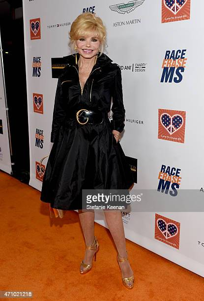 Actress Loni Anderson attends the 22nd Annual Race To Erase MS Event at the Hyatt Regency Century Plaza on April 24 2015 in Century City California