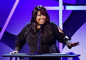 Actress Loni Love speaks onstage at the 19th Annual Art Directors Guild Excellence In Production Design Awards at the Beverly Hilton Hotel on January...