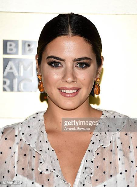 Actress Lorenza Izzo arrives at the AMC Networks' 68th Primetime Emmy Awards AfterParty Celebration at BOA Steakhouse on September 18 2016 in West...