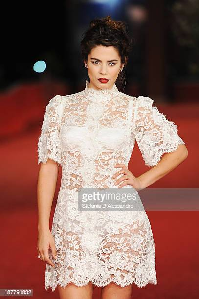 Actress Lorenza Izzo attend 'The Green Inferno' Premiere during The 8th Rome Film Festival on November 12 2013 in Rome Italy