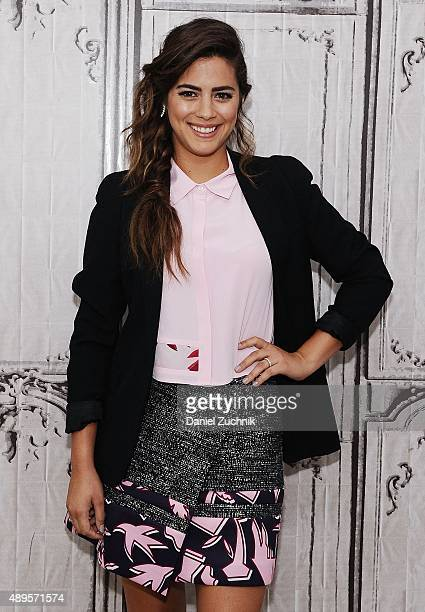 Actress Lorenza Izzo attends AOL Build to discuss their movie 'Knock Knock' at AOL Studios on September 22 2015 in New York City