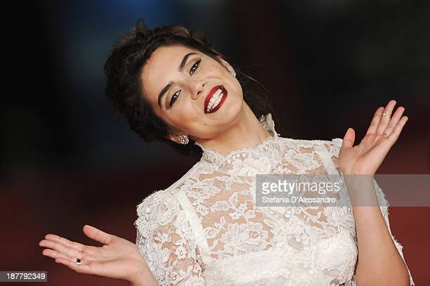 Actress Lorenza Izzo attends 'The Green Inferno' Premiere during The 8th Rome Film Festival on November 12 2013 in Rome Italy