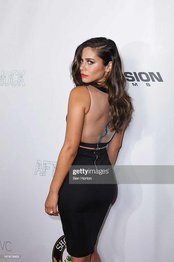 Actress Lorenza Izzo attends the premiere of 'Aftershock' at Mann Chinese 6 on May 1, 2013 in Los Angeles, California.