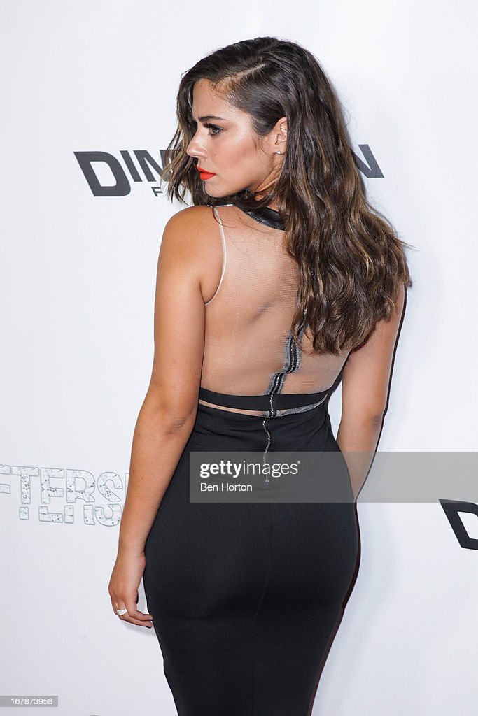 Actress Lorenza Izzo attends the premiere of 'Aftershock' at Mann Chinese 6 on May 1 2013 in Los Angeles California
