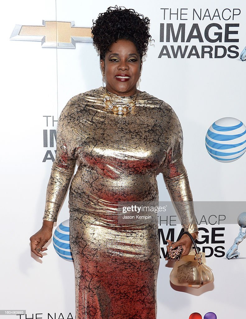 Actress Loretta Devine arrives at the 44th NAACP Image Awards held at The Shrine Auditorium on February 1, 2013 in Los Angeles, California.