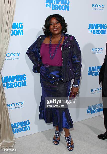 Actress Loretta Devine arrives at the 'Jumping The Broom' Los Angeles premiere at ArcLight Cinemas Cinerama Dome on May 4 2011 in Hollywood California