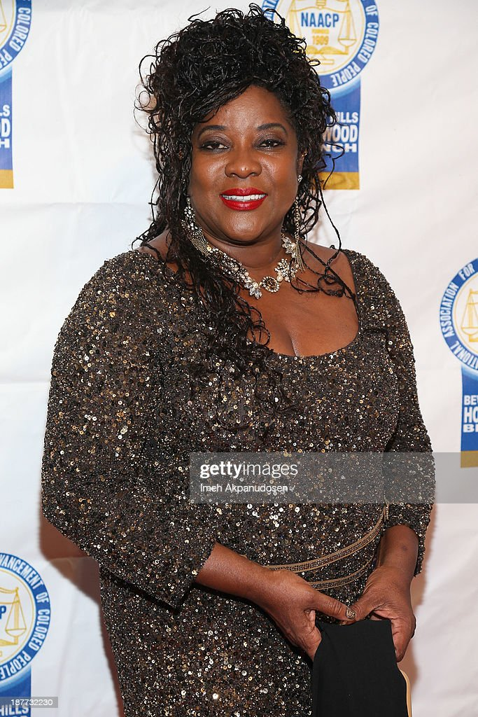 Actress <a gi-track='captionPersonalityLinkClicked' href=/galleries/search?phrase=Loretta+Devine&family=editorial&specificpeople=214600 ng-click='$event.stopPropagation()'>Loretta Devine</a> attends the 23rd Annual NAACP Theatre Awards at Saban Theatre on November 11, 2013 in Beverly Hills, California.