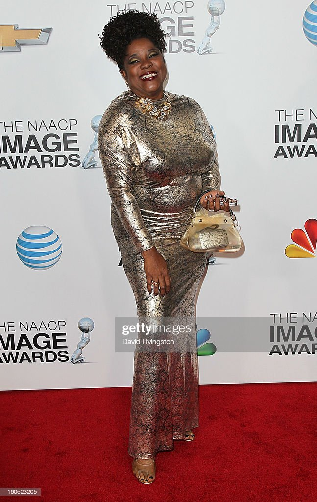 Actress Loretta Devine attends the 44th NAACP Image Awards at the Shrine Auditorium on February 1, 2013 in Los Angeles, California.