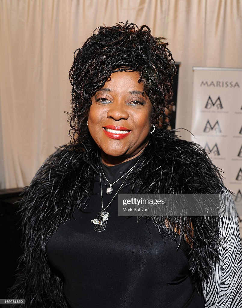 Actress <a gi-track='captionPersonalityLinkClicked' href=/galleries/search?phrase=Loretta+Devine&family=editorial&specificpeople=214600 ng-click='$event.stopPropagation()'>Loretta Devine</a> in Backstage Creations Celebrity Retreat at 2012 NAACP Image Awards at The Shrine Auditorium on February 17, 2012 in Los Angeles, California.