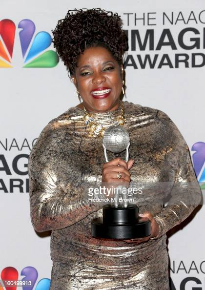 Actress Loretta Devine winner of Outstanding Supporting Actress in a Drama Series for 'Grey's Anatomy' poses in the press room during the 44th NAACP...