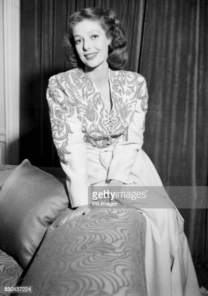 Actress Loretta Young wearing her own fashion 12/08/00 Young died of ovarian cancer her longtime agent and friend Norman Brokaw said She was aged 87