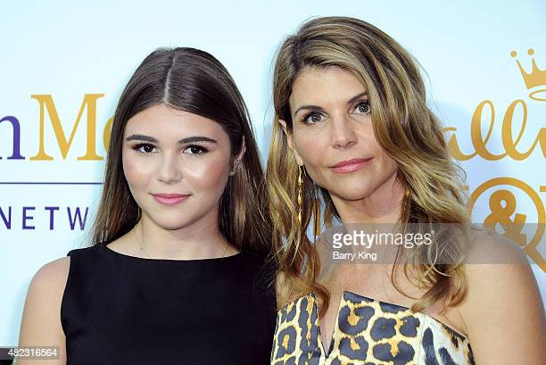 Actress Lori Loughlin and daughter Olivia Jade Giannulli attend the 2015 Summer TCA Tour Hallmark Channel and Hallmark Movies And Mysteries on July...