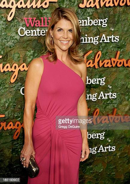 Actress Lori Loughlin arrives at the Wallis Annenberg Center For The Performing Arts Inaugural Gala at Wallis Annenberg Center for the Performing...