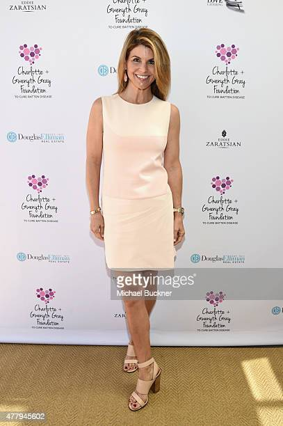 Actress Lori Loughlin attended a tea party to support the Charlotte Gwenyth Gray Foundation to cure Batten Disease on Saturday June 20th in Brentwood...