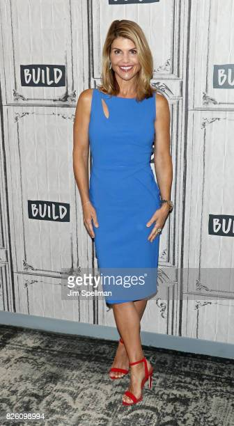 Actress Lori Loughlin attends Build to discuss the show 'Fuller House' at Build Studio on August 3 2017 in New York City