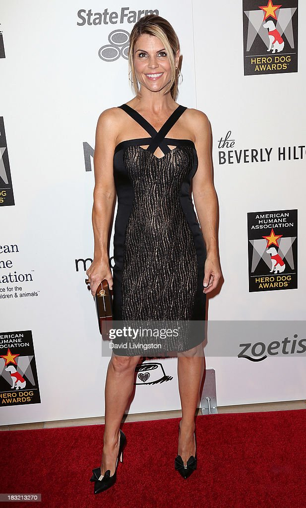 Actress <a gi-track='captionPersonalityLinkClicked' href=/galleries/search?phrase=Lori+Loughlin&family=editorial&specificpeople=208147 ng-click='$event.stopPropagation()'>Lori Loughlin</a> attends the 3rd Annual American Humane Association Hero Dog Awards at The Beverly Hilton Hotel on October 5, 2013 in Beverly Hills, California.