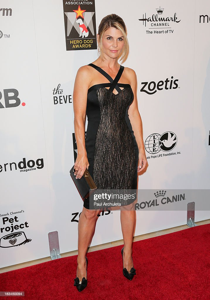 Actress Lori Loughlin attends the 3rd annual American Humane Association Hero Dog Awards at The Beverly Hilton Hotel on October 5, 2013 in Beverly Hills, California.