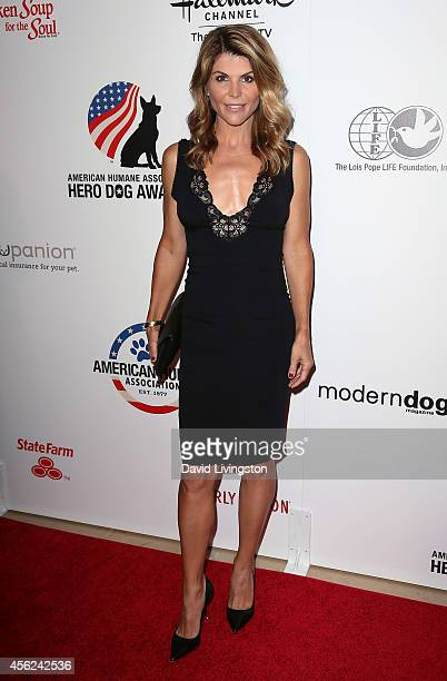 Actress Lori Loughlin attends the 4th Annual American Humane Association Hero Dog Awards at The Beverly Hilton Hotel on September 27 2014 in Beverly...
