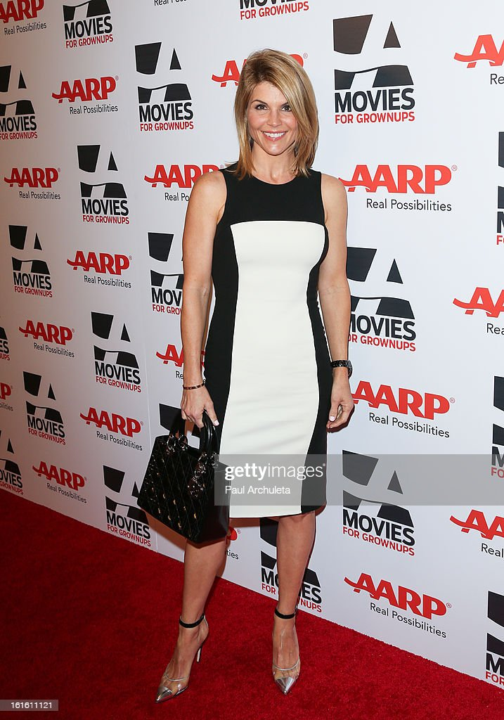 Actress Lori Loughlin attends the AARP Magazine's 12th annual Movies For Grownups Awards luncheon at the Peninsula Hotel on February 12, 2013 in Beverly Hills, California.
