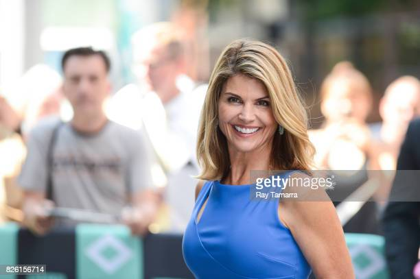 Actress Lori Loughlin enters the 'AOL Build' taping at the AOL Studios on August 03 2017 in New York City