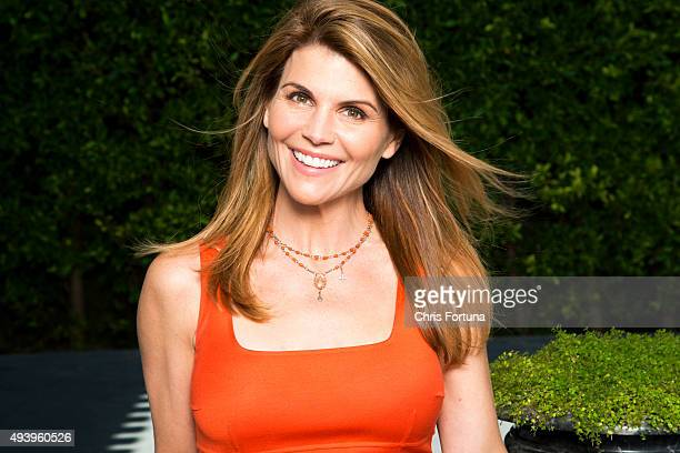 Actress Lori Loughlin is photographed at home for People Magazine on May 19 2015 in Los Angeles California