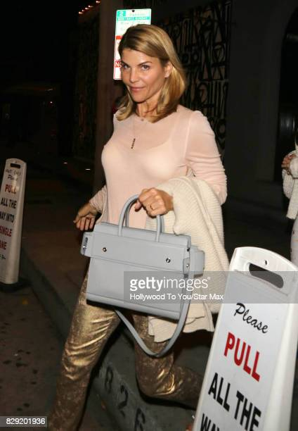 Actress Lori Loughlin is seen on August 9 2017 in Los Angeles CA