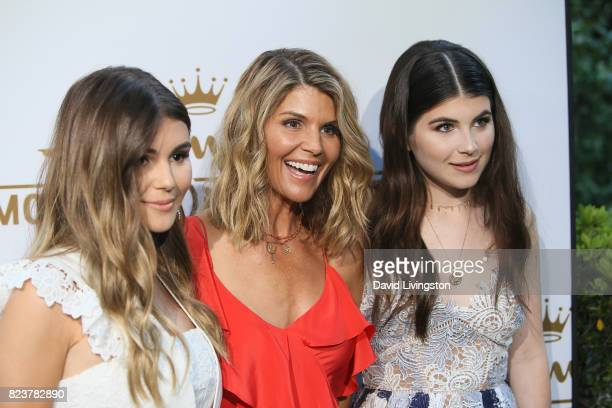 Actress Lori Loughlin Isabella Rose and Olivia Jade Giannulli attend the Hallmark Channel and Hallmark Movies and Mysteries 2017 Summer TCA Tour on...