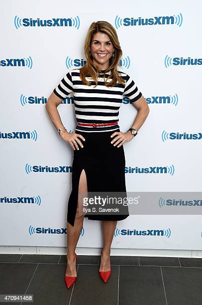 Actress Lori Loughlin visits the SiriusXM Studios on April 24 2015 in New York City