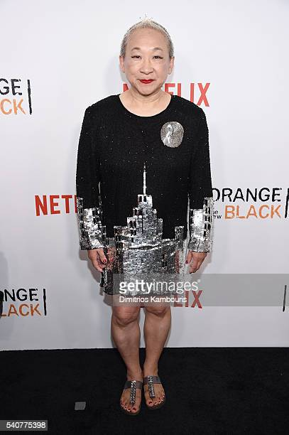 Actress Lori Tan Chinn attends 'Orange Is The New Black' premiere at SVA Theater on June 16 2016 in New York City